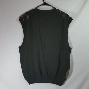 Bass Sweaters - Bass Men's Argyle Sweater Vest Sz XL